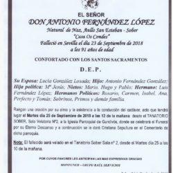 DON ANTONIO FERNANDEZ LOPEZ