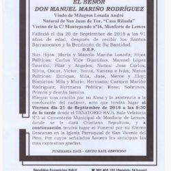 DON MANUEL MARIÑO RODRIGUEZ
