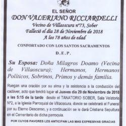DON VALERIANO RICCIARDELLI