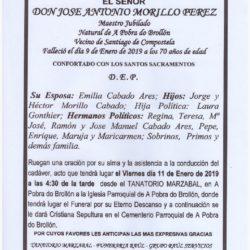 DON JOSE ANTONIO MORILLO PEREZ