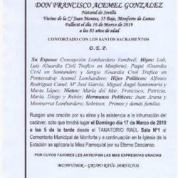 DON FRANCISCO ACEMEL GONZALEZ
