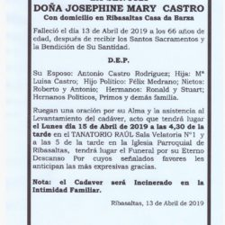 Doña Josephine Mary Castro