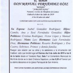 DON MANUEL FERNANDEZ DIAZ
