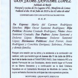 DON JAIME SANTOME LOPEZ