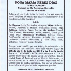 DOÑA MARIA PEREZ DIAZ