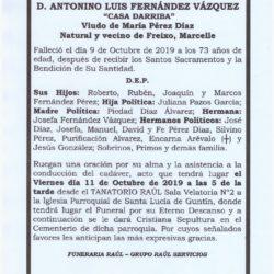 DON ANTONINO LUIS FERNANDEZ VAZQUEZ