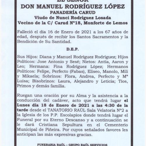 DON MANUEL RODRIGUEZ LOPEZ