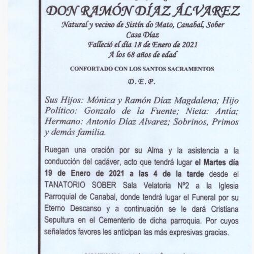 RAMON DIAZ ALVAREZ
